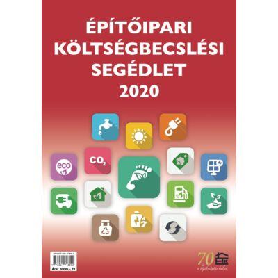 Építőipari költségbecslési segédlet 2020 - tagsági kedvezménnyel