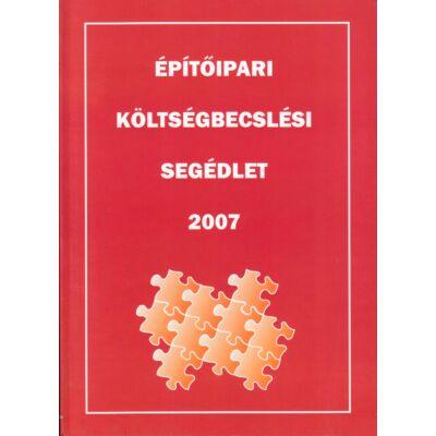 Építőipari költségbecslési segédlet 2007
