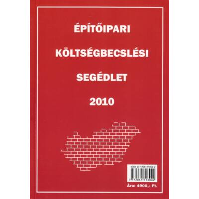 Építőipari költségbecslési segédlet 2010