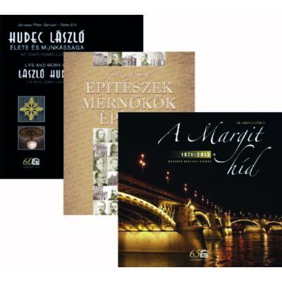 A Margit híd 1871-2013 - Építészek, mérnökök, építők - Hudec László élete könyvcsomag